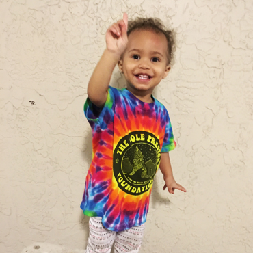 Tie Dye for Toddlers